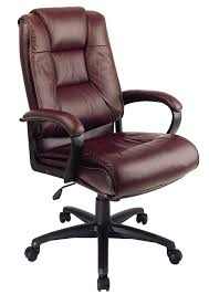 com office star ex5162 4 leather high back office chair burdy kitchen dining