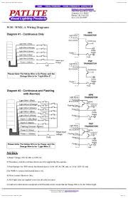patlite corporation lu7 wiring diagrams parts procurement patlite wiring diagram at Patlite Wiring Diagram