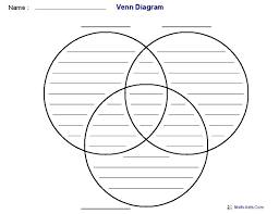 Venn Diagram With Lines Template Pdf 3 Circle Diagram Template Venn Circles With Lines Helenamontana Info