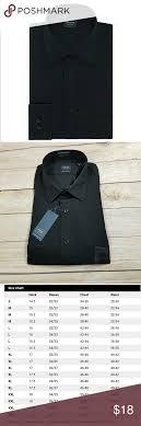 Nwt Arrow Long Sleeve Dress Shirt Black New With Tags Msrp