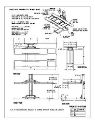 2 post lift wiring diagrams free download wiring diagrams schematics spoa9 installation manual at Rotary Lift Wiring Diagram