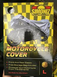 Simoniz Motorcycle Cover Sizes L Xl For Sale In Bristol