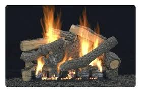 vent free gas log fireplace logs with remote home depot