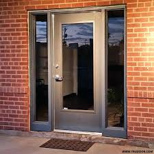 hollow metal door with full glass vision lite window a b repair chicago il kit