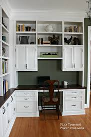 side view office set. Home Office In Dining Room. Diy Built-in Bookshelves Right Side View Set .