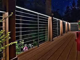 led patio lighting ideas. interesting lighting amazing best 25 deck lighting ideas on pinterest patio  railing plan for led o