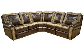 frisco leather reclining sectional frisco sectional