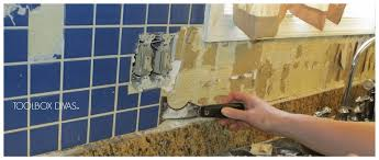 Removing Tile Backsplash New Tile Removal 48 Remove The Tile Backsplash Without Damaging The