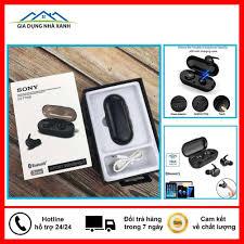 Tai Nghe Bluetooth Sony 5.0 - Tai Nghe Không Dây Sony D77 Kèm Đốc Sạc - Cảm  Biến Tự Động Kết Nối Bảo Hành 6 Tháng