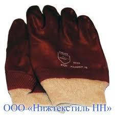 """Перчатки ХБ с ПВХ """"НИЖТЕКСТИЛЬ"""" - Производство ..."""