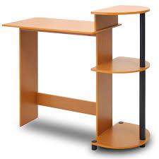 compact office desks. amazoncom furinno 11181lcbk compact computer desk light cherryblack kitchen u0026 dining office desks n