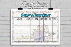 Pokemon Chore Chart Personalised