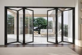 aluminum folding glass door systems