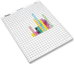 Metric 1 Centimeter Graph Paper 100 Sheets Eta 012626 Rainbow