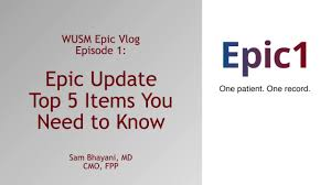 Epic Training Videos John T Milliken Department Of