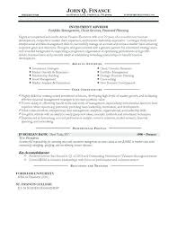 Financial Advisor Assistant Sample Resume Classy Financial Advisor Resume Samples Financial Planner Resume With