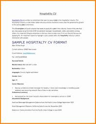 Sample Resume For Hotel And Restaurant Management Best Of Ideas