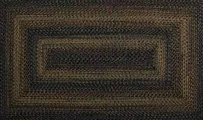 black forest out durable braided rug runner