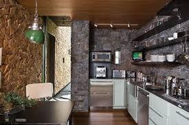 kitchen awesome dark stone wall idea modern appliances gorgeous green pendant lamps terrific kitchen floating