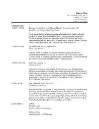 Work Resume Template History Party Proposal Sample Internship Best