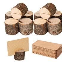 Toncoo Wood Place Card Holders, 10Pcs Premium ... - Amazon.com