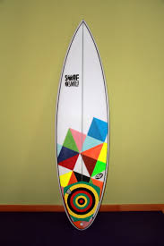 Surfboard Design Contest Handcrafted Surfboard With Funky Design Surfcamp Portugal