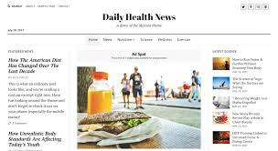 Wordpress Template Newspaper Mission News Wordpress Theme Compete Themes