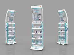 Point Of Sale Material Design Sensondyne Paradontax Corega Posm Design On Behance