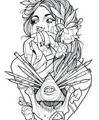 Realistic peacock coloring pages free coloring page printable. Image Result For Coloring Pages Tattoo Tribales Tattoo Tribal