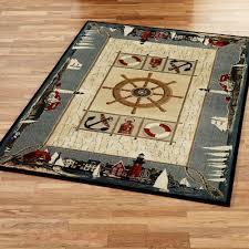 coastal themed area rugs seaside rug ideas