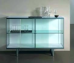 glass door sideboards glass door buffet cabinet sideboards with glass doors lovely inside sideboards amazing glass