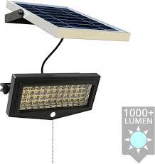 Solar Wandlamp Force Met Bewegingssensor En Los Paneel Op Zonne Energie