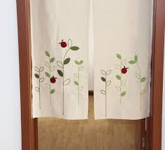 ZHH Left And Right Biparting Open Modern minimalist japanese door curtain  Summer mosquito repelling High cloth curtain-in Curtains from Home & Garden  on ...
