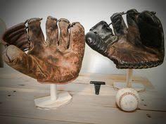 Baseball Glove Display Stand 100 Baseball Glove Display image 100 Man Room Pinterest Gloves 2