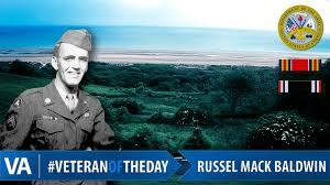 VeteranOfTheDay Russell Mack Baldwin - VAntage Point