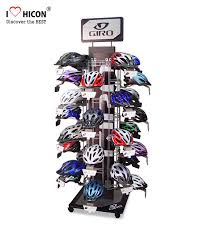 Motorcycle Helmet Display Stand Fascinating Attract Shoppers Flooring Display Stands Helmet Display Rack Custom