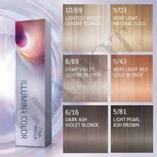 Illumina Hair Color Chart Wella Professionals Illumina Color Chart Bedowntowndaytona Com