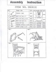susan dining chair assemble instruction alinia item alinia dining chair 107661 anne item anne dining chair catalina item catalina chair
