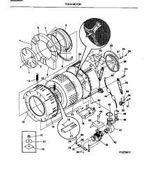 Maytag front load washer parts diagram horrible fwtges tub motor
