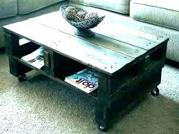 making your own coffee table design make a plans for out of pallets o