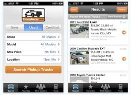Looking for a New or Used Pickup Truck? We've Got an App for That ...