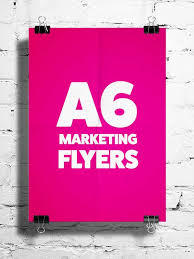 Pictures Of Flyers A6 Flyers Digital Marketing Consultant Graphic Design Studio