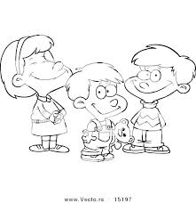 Boy And Girl Coloring Pages Combined With Boy And Girl Coloring