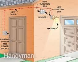 best images about electrical wiring cable the installing a remote motion detector for lighting