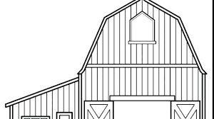 Barn Coloring Pages Barn Coloring Pages To Print Page Wonderful