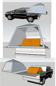 Truck box and tent platform for Toyota Tacoma quad cab 5 ...