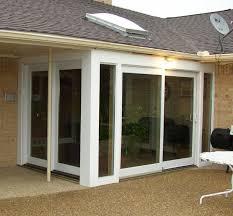pella patio doors with blinds between the glass