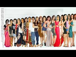 Bollywood Actresses Height Comparison Shortest Vs Tallest Video With Music
