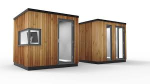 outdoor office pods. Small Outdoor Office. Office Pod With Desk Height Corner Window Small  Outdoor R Office Pods