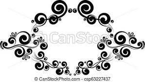 Victorian frame border Book Cover Victorian Frame Border Monogram Floral Ornament Csp63227437 Can Stock Photo Victorian Frame Border Monogram Floral Ornament Calligraphic Vector